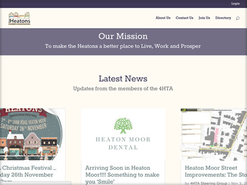 4 Heatons Website