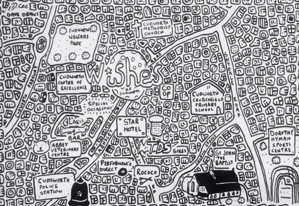 Cudworth Doodle Map
