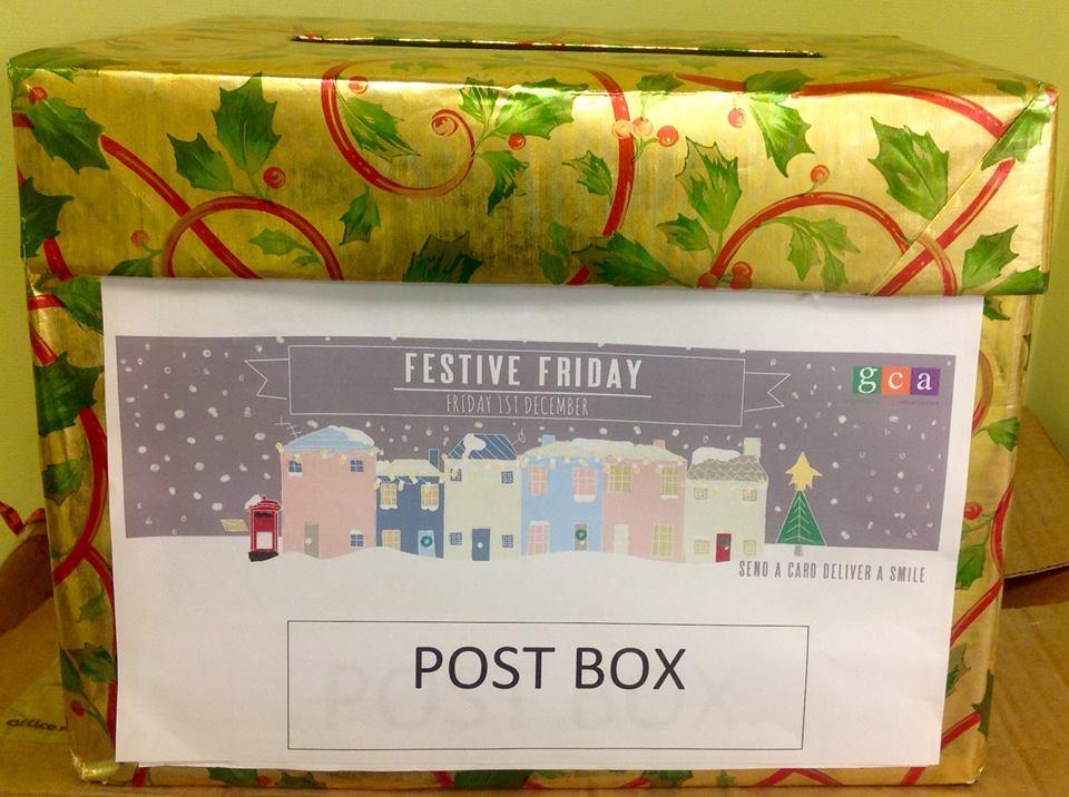 Nigel Quiney Festive Post Box