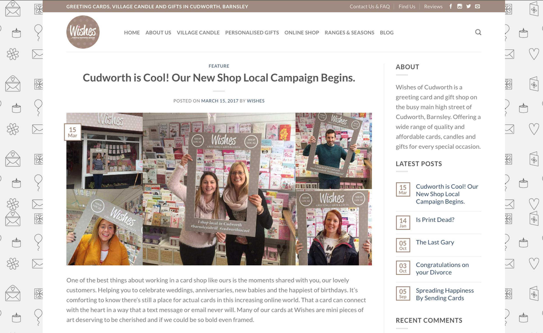 Wishes of Cudworth Blog